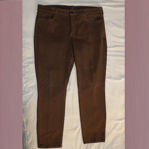 NYDJ Heavy Brown Legging Jeans Pants w38x29.5